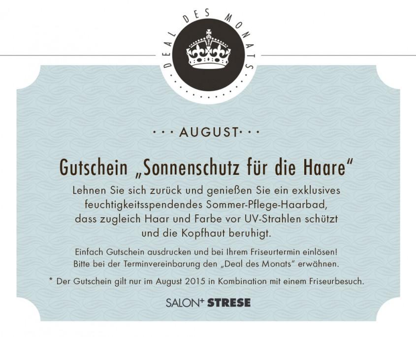 Friseur Leipzig Salon Strese Deal AUGUST