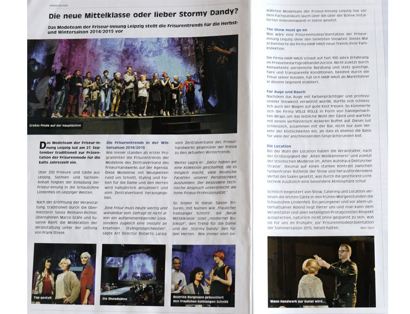 Leipziger Handwerkskurier 5 /2014