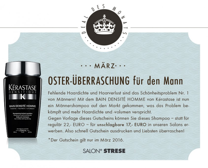 SALON Deal Maerz 2016