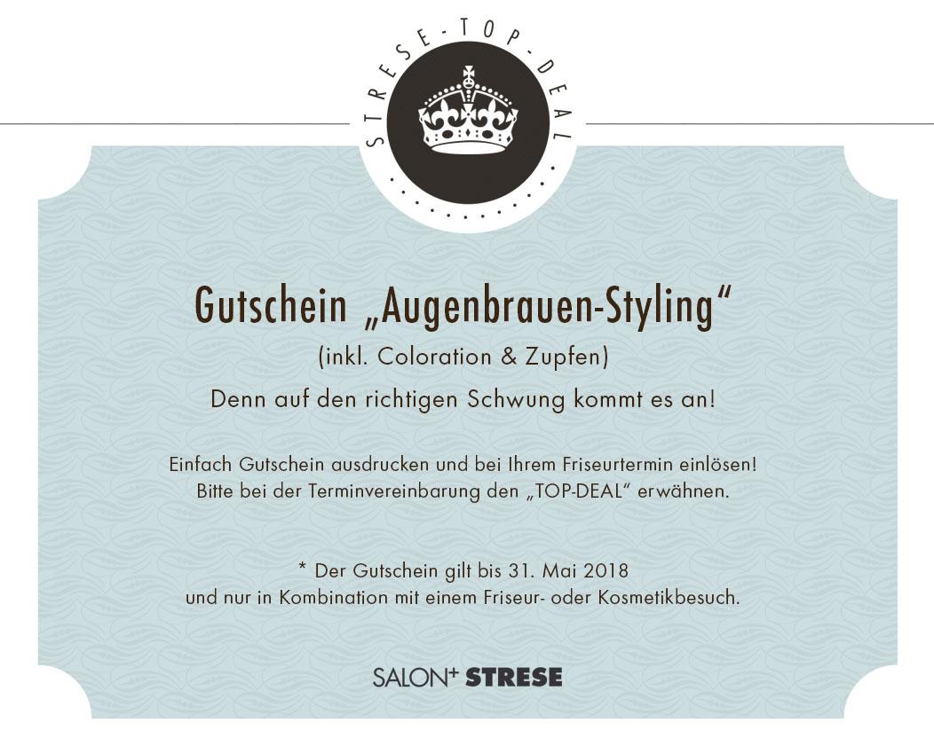 Top Deal Augenbrauen Styling Salon Strese