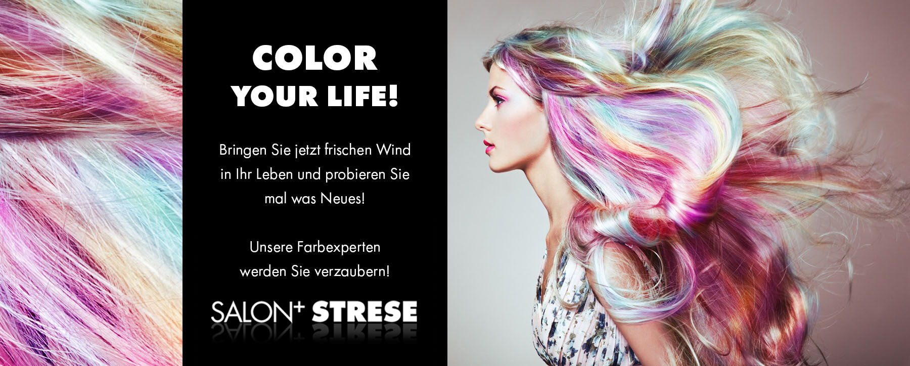 Salon Strese Friseur Hair Stylist Kosmetiklounges In